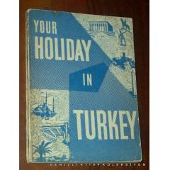 YOUR HOLIDAY IN TURKEY 1961 KARGOSUZ