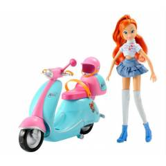 Winx BLOOM AND HER SCOOTER