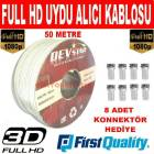 UYDU ALICI ANTEN KABLOSU FULL HD 50M