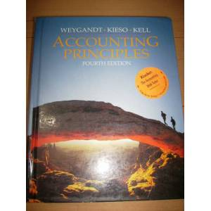 accounting principles (fourth edition) weygandt