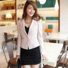 *JAPON STYLE ceket BAYAN blazer PEMBE YEN SEZON