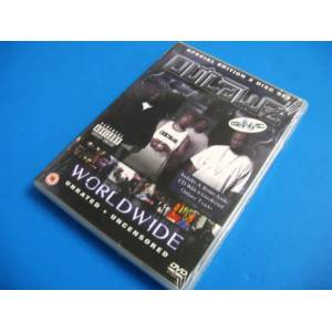 OUTLAWZ Worldwide DVD+CD Set ..Featuring 2PAC