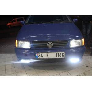 VW POLO 1994-1999 ARASI DRL LEDL� G�ND�Z FARI