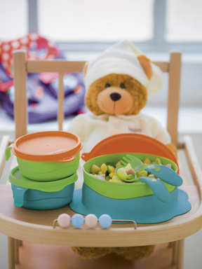 TUPPERWARE BEBEK SET� 3 PAR�A