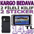 2x NOKIA  N8 FLEL RUBBER KILIF KAPAK + 2 FLM