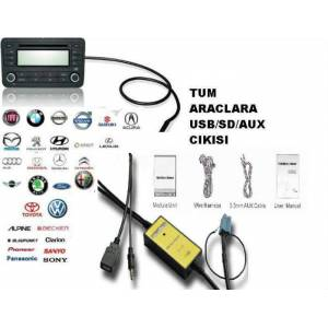 VW GOLF USB PORT /  USB SD AUX G�R���