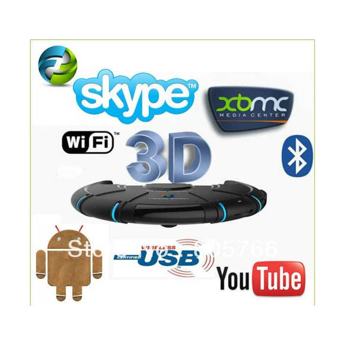 Tronsmart Dual Core Android 4.1.2 Wifi 3D Tv Box