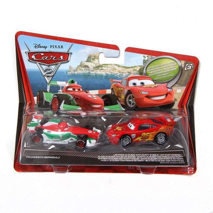 DISNEY CARS2 2'L� ��M�EK McQUEEN + FRANCESCO