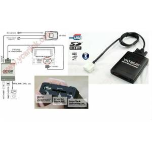 VW SC�ROCCO USB AUX SD VE BLUETOOTH ADAPT�R�