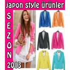 Japon Style Blazer Ceket Zara Woman Marka