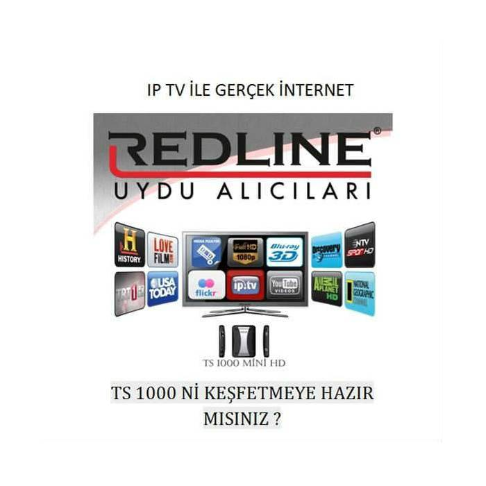 Redline Ts 1000 Full HD IP TV Mini Uydu Al�c�s�