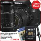Canon Eos 650D + 18-55mm + 55-250mm Lens Kit