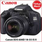 Canon Eos 600D 18-55mm IS II Kit Lens �ok Fiyat!