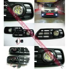 VW GOLF 3 III 93-97G�ND�Z DRL POWER LED S�S FARI