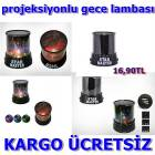 PROJEKSYONLU GECE LAMBASI STAR MASTER