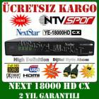 NEXT YE 18000 CX HD UYDU ALICISI FULL HD GARANT�