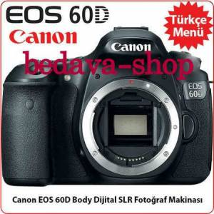 CANON EOS 60 D BODY - HED�YEL�D�R