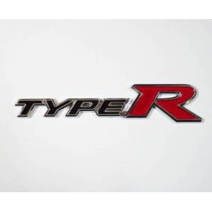 Z tech TYPE R Logosu 3D g�r�n�ml� sticker 14x3 c