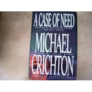 a case of need michael crichton n43