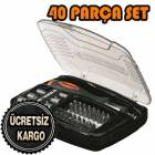 BLACK & DECKER  40 PAR�A TORNAV�DA U� SET�