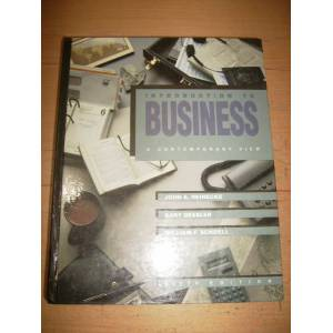 introduction to business a contemporary view