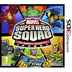 MARVEL SUPER HERO SQUAD THE INFINITY 3DS SIFIR