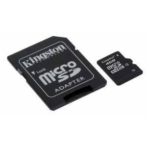 Kingston 4GB microSDHC Class 4 Haf�za Kart�