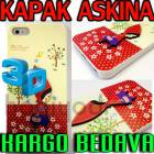 APPLE iPHONE 4 KILIF HAPPYMOR� DESIGN KAP + 2 F�
