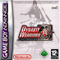 DYNASTY WARRIORS GAMEBOY ADVANCE OYUNU SIFIR