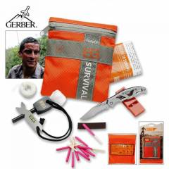 Gerber Bear Grylls Survival Basic Kit Kurtarma S
