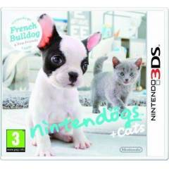 NINTENDOGS + CATS FRENCH BULLDOG 3DS OYUN