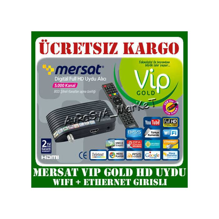 MERSAT VIP M�N� FULL HD UYDU ALICISI GOLD UCUZ