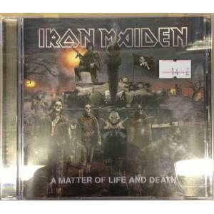 IRON MAIDEN A MATTER OF LIFE AND DEATH CD 2.EL