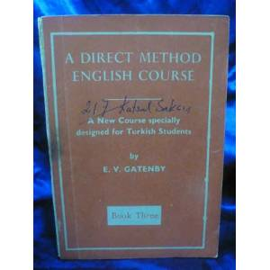 A DIRECT METHOD ENGLISH COURSE Book Three msc
