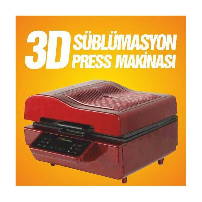 3D S�blimasyon Bask� Press Makinas�