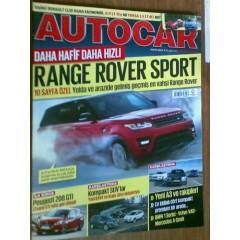 AUTOCAR MAYIS 2013-RANGE ROVER SPORT-PEUGEOT