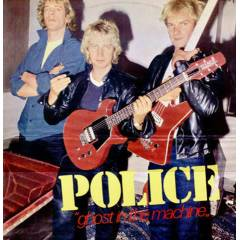 POLICE - GHOST �N THE MACHINE LP PLAK