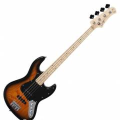 Swing Mikki Signature Sunburst / Maple Bas Gitar