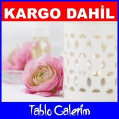 100X70 KANVAS TABLO ���EK AYF CICEK 50486