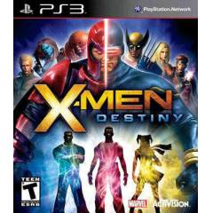 X-MEN DESTINY Playstation 3 Oyunu takas olur
