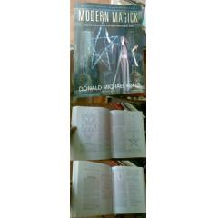MODERN MAGICK / TWELVE LESSONS IN THE HIGH