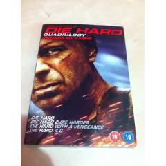 DVD Die Hard Quadrilogy 4 Film