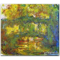 100X70 KANVAS TABLO CLAUDE MONET THE JAPAN