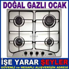 FERRE 240C INOX SET�ST� ANKASTRE DO�ALGAZLI OCAK