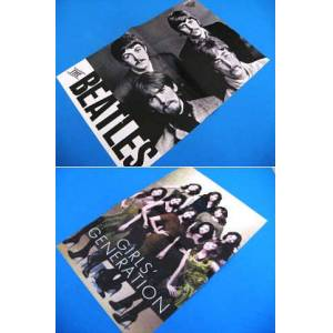 POSTER THE BEATLES & GIRLS GENERATION