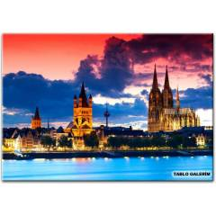 100X70 KANVAS TABLO GOTHIC CATHEDRAL COLOGNE GER