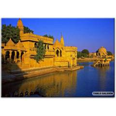 100X70 KANVAS TABLO INDIA  ARCHITECTURAL STYLE