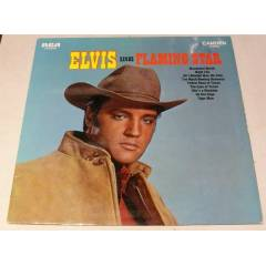 ELVİS PRESLEY - Elvis Sings Flaming Star , LP