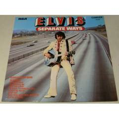 ELVİS PRESLEY - Separate Ways , LP 1973