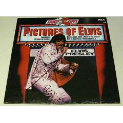 ELVİS PRESLEY - Takeoff - Pictures Of Elvis , LP